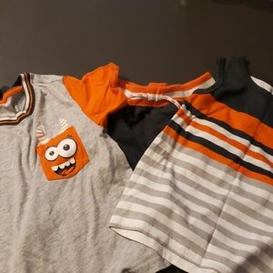 3 peice boys short set. Size 5T